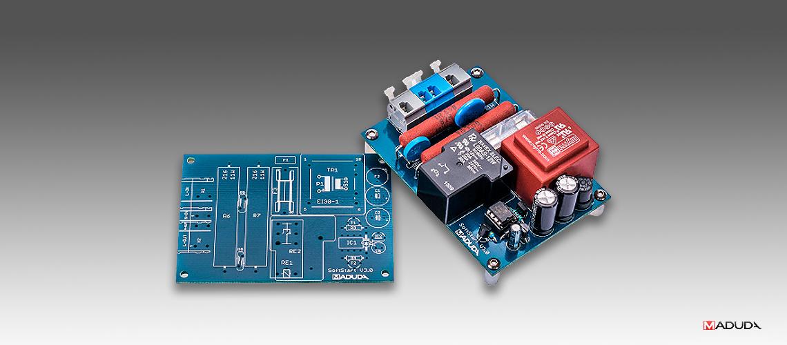 Modul pomalého nábehu Soft-Start V3.0 pre audio zosilňovač