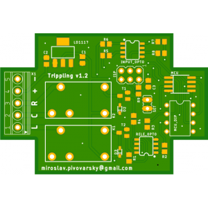 PCB pre modul Tripling